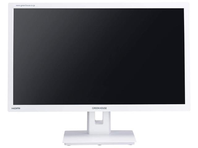 グリーンハウス 液晶モニタ・液晶ディスプレイ GH-LCW22G-WH [21.5インチ ホワイト] [モニタサイズ:21.5インチ モニタタイプ:ワイド 解像度(規格):フルHD(1920x1080) 入力端子:D-Subx1/HDMIx1/DisplayPortx1] 【】【人気】【売れ筋】【価格】