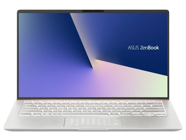 【キャッシュレス 5% 還元】 ASUS ノートパソコン ZenBook 14 UX433FN UX433FN-8265IS [アイシクルシルバー] 【】 【人気】 【売れ筋】【価格】