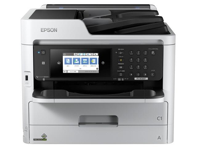 【代引不可】EPSON プリンタ ビジネスインクジェット PX-M380FC0 [タイプ:インクジェット 最大用紙サイズ:A4 解像度:1200x2400dpi 機能:FAX/コピー/スキャナ]