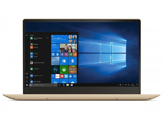 Lenovo ノートパソコン Ideapad 320S 81AK00GGJP [ゴールデン] [液晶サイズ:13.3インチ CPU:Core i5 8250U(Kaby Lake Refresh)/1.6GHz/4コア CPUスコア:7677 ストレージ容量:SSD:512GB メモリ容量:8GB OS:Windows 10 Home 64bit] 【】【人気】【売れ筋】【価格】