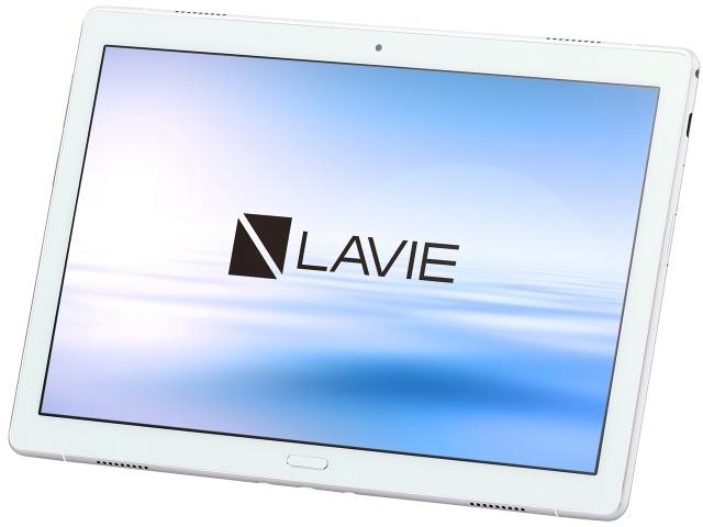 NEC タブレットPC(端末)・PDA LAVIE Tab E TE510/JAW PC-TE510JAW [画面サイズ:10.1インチ 画面解像度:1920x1200 詳細OS種類:Android 8.1 ネットワーク接続タイプ:Wi-Fiモデル ストレージ容量:64GB メモリ:4GB CPU:Snapdragon 450/1.8GHz]