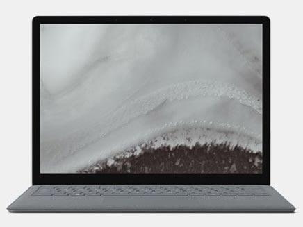 マイクロソフト ノートパソコン Surface Laptop 2 LQS-00055 [プラチナ] [液晶サイズ:13.5インチ CPU:Core i7 8650U(Kaby Lake Refresh)/1.9GHz/4コア CPUスコア:8817 ストレージ容量:SSD:512GB メモリ容量:16GB OS:Windows 10 Home]