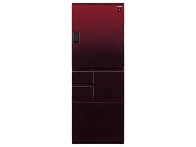 【代引不可】シャープ 冷凍冷蔵庫 SJ-WA50E-R [グラデーションレッド] 【】【人気】【売れ筋】【価格】