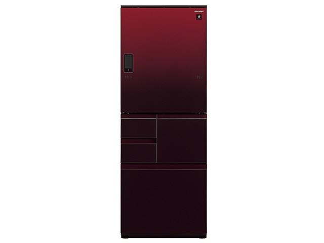【代引不可】シャープ 冷凍冷蔵庫 SJ-WA55E-R [グラデーションレッド] 【】【人気】【売れ筋】【価格】