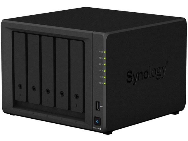 【キャッシュレス 5% 還元】 Synology NAS DiskStation DS1019+ [ドライブベイ数:HDD/SSDx5、M.2 SSDx2 DLNA:○] 【】 【人気】 【売れ筋】【価格】