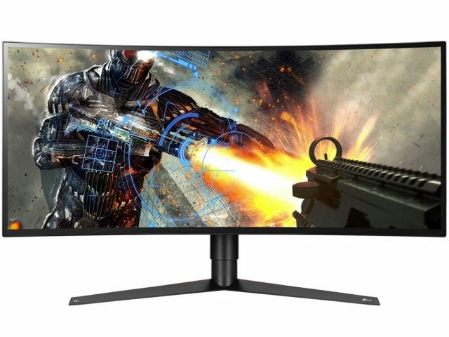 【代引不可】LGエレクトロニクス 液晶モニタ・液晶ディスプレイ UltraGear 34GK950G-B [34インチ] [モニタサイズ:34インチ モニタタイプ:ワイド 解像度(規格):UWQHD(3440x1440) 入力端子:HDMIx1/DisplayPortx1] 【】【人気】【売れ筋】【価格】