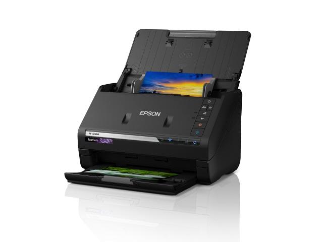 EPSON スキャナ FF-680W [原稿サイズ:A4 光学解像度:600dpi インターフェース:USB3.0 幅x高さx奥行き:296x176x169mm] 【】【人気】【売れ筋】【価格】