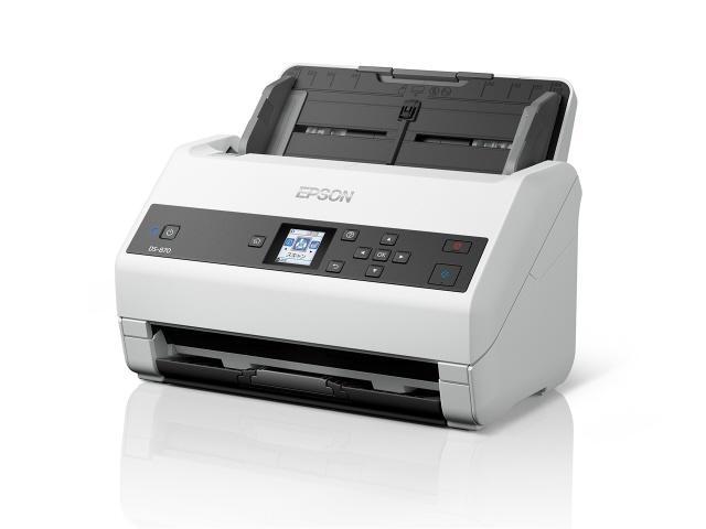 EPSON スキャナ DS-870 [原稿サイズ:A4 光学解像度:600dpi インターフェース:USB3.0 幅x高さx奥行き:296x217x212mm] 【】【人気】【売れ筋】【価格】