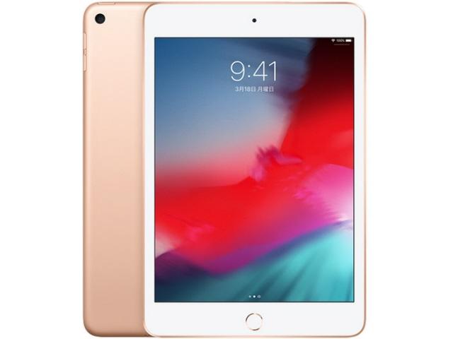 【キャッシュレス 5% 還元】 Apple タブレットPC(端末)・PDA iPad mini 7.9インチ 第5世代 Wi-Fi 256GB 2019年春モデル MUU62J/A [ゴールド] [OS種類:iOS 12 画面サイズ:7.9インチ CPU:Apple A12 ストレージ容量:256GB]