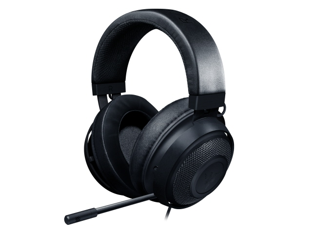 Razer ヘッドセット Kraken [Black] [ヘッドホンタイプ:オーバーヘッド プラグ形状:ミニプラグ 片耳用/両耳用:両耳用 ケーブル長さ:1.3m] 【】【人気】【売れ筋】【価格】