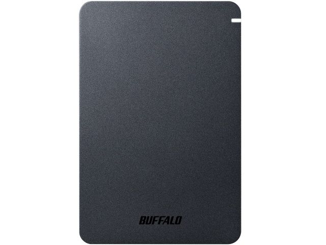 【ポイント5倍以上!最大3,000円OFFクーポン!9日~16日】 バッファロー 外付け ハードディスク HD-PGF2.0U3-BBKA [ブラック] [容量:2TB インターフェース:USB3.1 Gen1(USB3.0)] 【】【人気】【売れ筋】【価格】