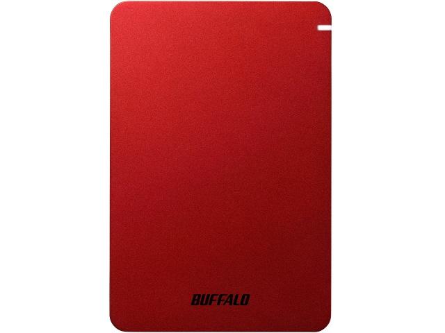 【キャッシュレス 5% 還元】 バッファロー 外付け ハードディスク HD-PGF1.0U3-RDA [レッド] [容量:1TB インターフェース:USB3.1 Gen1(USB3.0)] 【】 【人気】 【売れ筋】【価格】