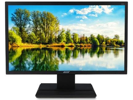 Acer 液晶モニタ・液晶ディスプレイ V246HQLCbid [23.6インチ ブラック] [モニタサイズ:23.6インチ モニタタイプ:ワイド 解像度(規格):フルHD(1920x1080) 入力端子:DVI/D-Sub/HDMI1.4] 【】【人気】【売れ筋】【価格】