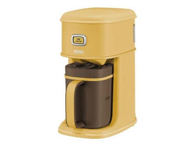 サーモス [容量:5杯 コーヒーメーカー アイスコーヒーメーカー サーモス ECI-661-CRML [キャラメル] [容量:5杯 フィルター:紙フィルター コーヒー:○] コーヒー:○]【】【人気】【売れ筋】【価格】, ケアライフ:c2477bad --- sunward.msk.ru