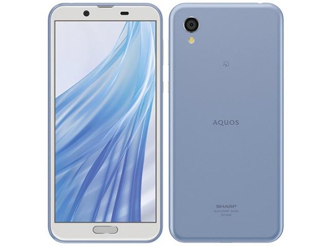 シャープ スマートフォン AQUOS sense2 SIMフリー [アーバンブルー] [キャリア:SIMフリー OS種類:Android 8.1 販売時期:2018年冬モデル 画面サイズ:5.5インチ 内蔵メモリ:ROM 32GB RAM 3GB バッテリー容量:2700mAh]