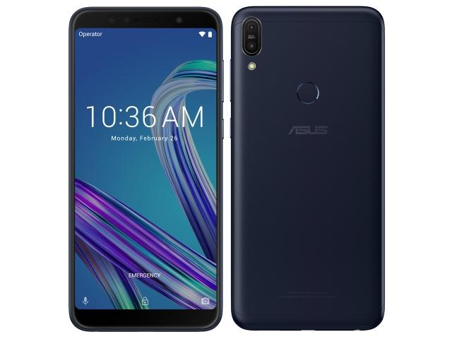 ASUS スマートフォン ZenFone Max Pro (M1) SIMフリー [ディープシーブラック] [キャリア:SIMフリー OS種類:Android 8.1 販売時期:2018年冬モデル 画面サイズ:6インチ 内蔵メモリ:ROM 32GB RAM 3GB バッテリー容量:5000mAh]