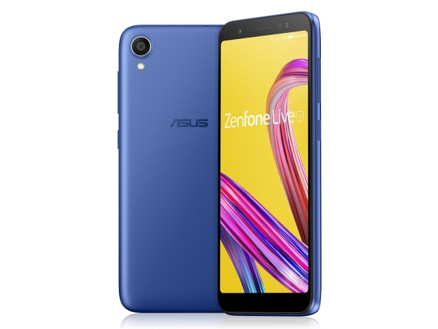 ASUS スマートフォン ZenFone Live (L1) SIMフリー [スペースブルー] [キャリア:SIMフリー OS種類:Android 8.0 販売時期:2018年冬モデル 画面サイズ:5.5インチ 内蔵メモリ:ROM 32GB RAM 2GB バッテリー容量:3000mAh]