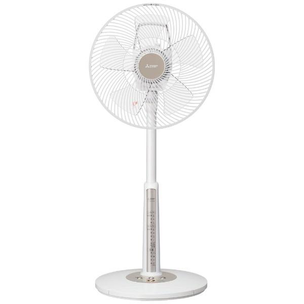 【キャッシュレス 5% 還元】 三菱電機 扇風機 R30J-MW [タイプ:扇風機 スタイル:据置き 羽根径:30cm] 【】 【人気】 【売れ筋】【価格】