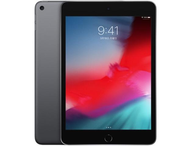 【キャッシュレス 5% 還元】 Apple タブレットPC(端末)・PDA iPad mini 7.9インチ 第5世代 Wi-Fi 64GB 2019年春モデル MUQW2J/A [スペースグレイ] [OS種類:iOS 12 画面サイズ:7.9インチ CPU:Apple A12 ストレージ容量:64GB] 【】 【人気】 【売れ筋】【価格】