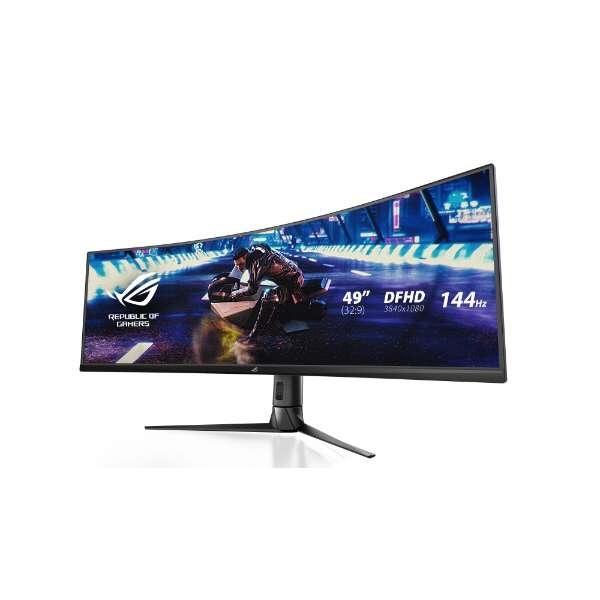 【キャッシュレス 5% 還元】 ASUS 液晶モニタ・液晶ディスプレイ ROG Strix XG49VQ [49インチ ブラック] [モニタサイズ:49インチ モニタタイプ:ワイド 入力端子:HDMI2.0x2/DisplayPortx1] 【】 【人気】 【売れ筋】【価格】