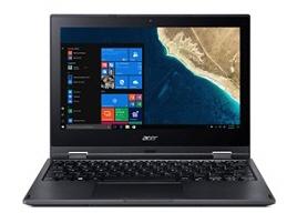 【キャッシュレス 5% 還元】 Acer ノートパソコン TravelMate Spin B1 TMB118G2R-N14P [画面サイズ:11.6インチ CPU:Celeron N4000(Gemini Lake)/1.1GHz/2コア CPUスコア:1423 ストレージ容量:eMMC:64GB メモリ容量:4GB OS:Windows 10 Pro 64bit]