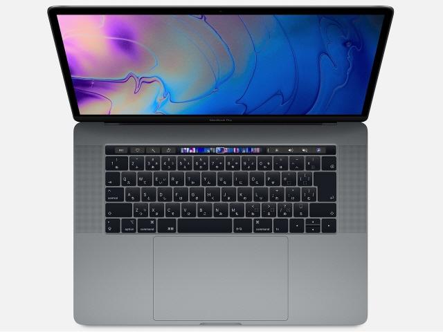 【キャッシュレス 5% 還元】 Apple Mac ノート MacBook Pro Retinaディスプレイ 2600/15.4 MV902J/A [スペースグレイ] [液晶サイズ:15.4インチ CPU:第9世代 Core i7/2.6GHz/6コア ストレージ容量:SSD:256GB メモリ容量:16GB]