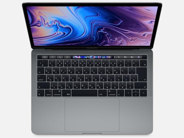 【キャッシュレス 5% 還元】 Apple Mac ノート MacBook Pro Retinaディスプレイ 2400/13.3 MV962J/A [スペースグレイ] [液晶サイズ:13.3インチ CPU:第8世代 Core i5/2.4GHz/4コア ストレージ容量:SSD:256GB メモリ容量:8GB]