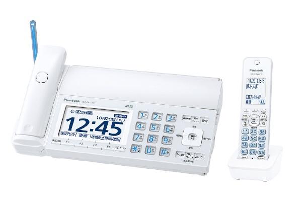 【キャッシュレス 5% 還元】 パナソニック 電話機 おたっくす KX-PZ720DL-W [ホワイト] [電話機能:○] 【】 【人気】 【売れ筋】【価格】