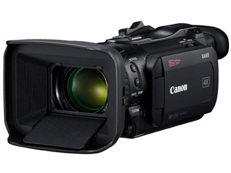 【ポイント5倍】CANON ビデオカメラ XA55 [タイプ:ハンディカメラ 画質:4K 撮影時間:135分 本体重量:975g 撮像素子:CMOS 1型 動画有効画素数:829万画素]  【人気】 【売れ筋】【価格】