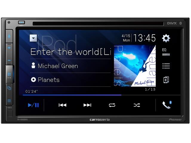 パイオニア カーオーディオ FH-8500DVS [タイプ:ディスプレイオーディオ 取付形状:2DIN 搭載プレーヤー:DVD/CD Bluetooth:Bluetooth 4.1 certified 最大出力:50Wx4] 【】 【人気】 【売れ筋】【価格】