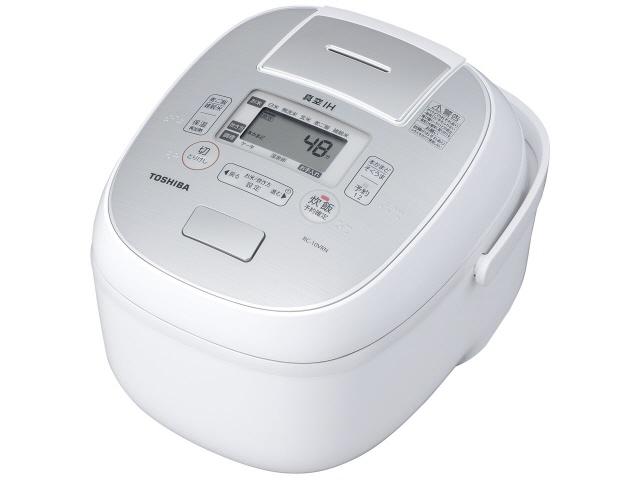 【キャッシュレス 5% 還元】 東芝 炊飯器 真空IH RC-10VRN(W) [グランホワイト] 【】 【人気】 【売れ筋】【価格】