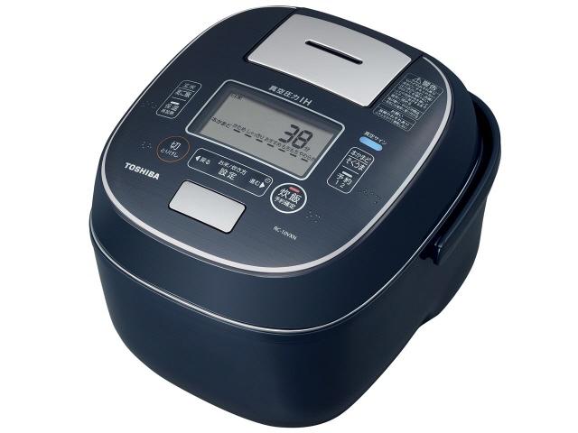 【キャッシュレス 5% 還元】 東芝 炊飯器 真空圧力IH RC-10VXN(L) [インディゴブルー] 【】 【人気】 【売れ筋】【価格】