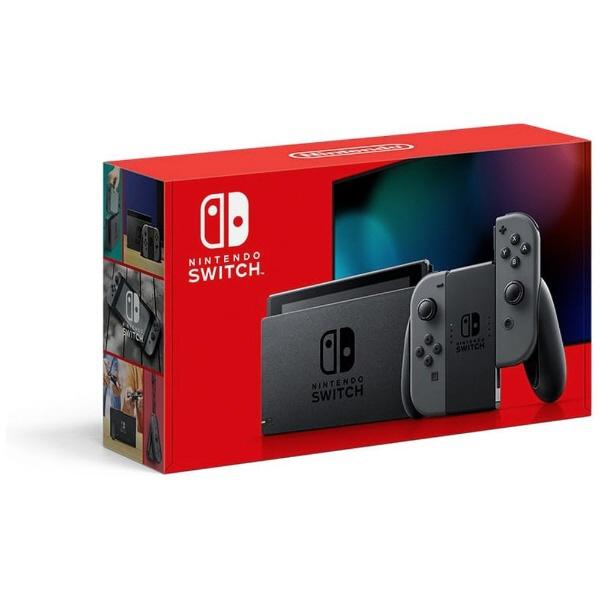 【キャッシュレス 5% 還元】 任天堂 ゲーム機 Nintendo Switch HAD-S-KAAAA [グレー] 【2019年モデル】 【】 【人気】 【売れ筋】【価格】