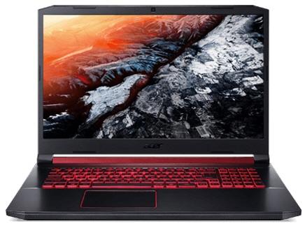 【キャッシュレス 5% 還元】 Acer ノートパソコン Nitro 5 AN517-51-A58U5 [画面サイズ:17.3インチ CPU:Core i5 9300H(Coffee Lake Refresh)/2.4GHz/4コア CPUスコア:9877 ストレージ容量:SSD:256GB メモリ容量:8GB OS:Windows 10 Home 64bit]