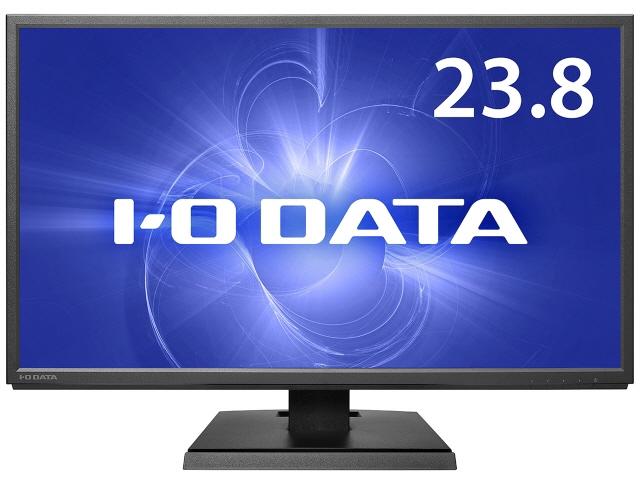 【キャッシュレス 5% 還元】 IODATA 液晶モニタ・液晶ディスプレイ LCD-CF241EDB [23.8インチ ブラック] [モニタサイズ:23.8インチ モニタタイプ:ワイド 解像度(規格):フルHD(1920x1080) 入力端子:D-Subx1/HDMIx1/USB Type-Cx1/DisplayPortx1]