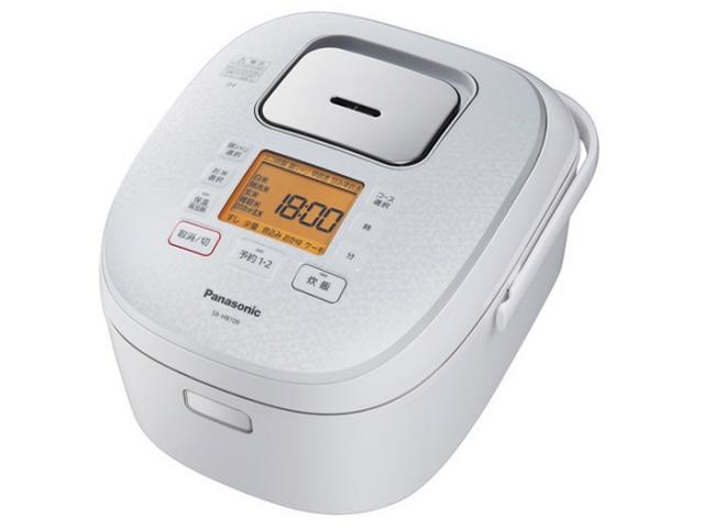 【キャッシュレス 5% 還元】 パナソニック 炊飯器 SR-HB109-W [ホワイト] 【】 【人気】 【売れ筋】【価格】