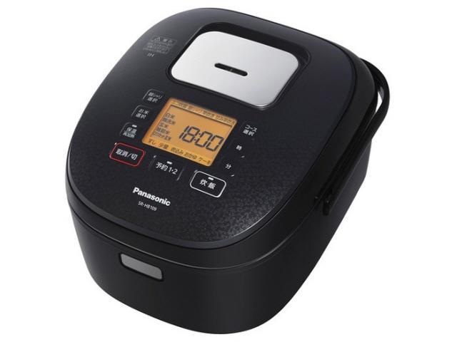 【キャッシュレス 5% 還元】 パナソニック 炊飯器 SR-HB109-K [ブラック] 【】 【人気】 【売れ筋】【価格】