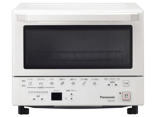 【キャッシュレス 5% 還元】 パナソニック トースター NB-DT52-W [ホワイト] [タイプ:オーブン 同時トースト数:2枚 消費電力:1300W] 【】 【人気】 【売れ筋】【価格】