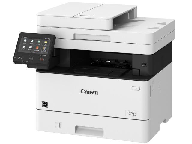 【キャッシュレス 5% 還元】 CANON プリンタ Satera MF447dw [タイプ:モノクロレーザー 最大用紙サイズ:A4 解像度:2400dpi 機能:FAX/コピー/スキャナ] 【】 【人気】 【売れ筋】【価格】