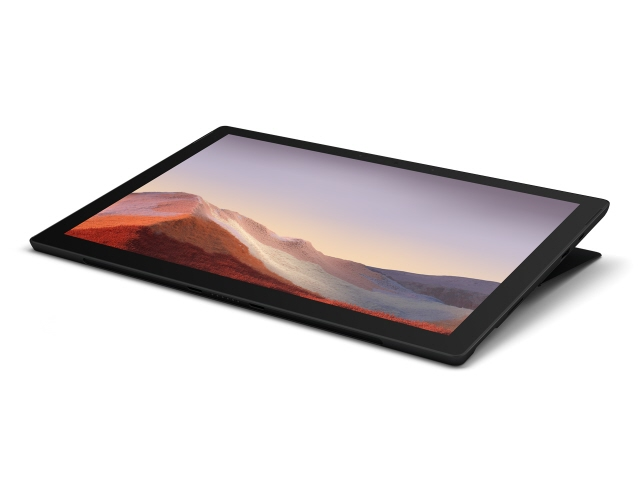 【キャッシュレス 5% 還元】 マイクロソフト タブレットPC(端末)・PDA Surface Pro 7 VAT-00027 [ブラック] [OS種類:Windows 10 Home 画面サイズ:12.3インチ CPU:Core i7 1065G7/1.3GHz ストレージ容量:512GB] 【】 【人気】 【売れ筋】【価格】