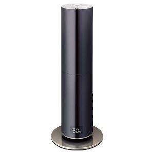 【キャッシュレス 5% 還元】 ドウシシャ 加湿器 d-design DHBK-219CL-BK [ブラック] [加湿タイプ:ハイブリッド式(加熱超音波式) 設置タイプ:据え置き 適用畳数(木造和室):12畳 適用畳数(プレハブ洋室):19畳 タンク容量:4L その他機能:自動運転/除菌]