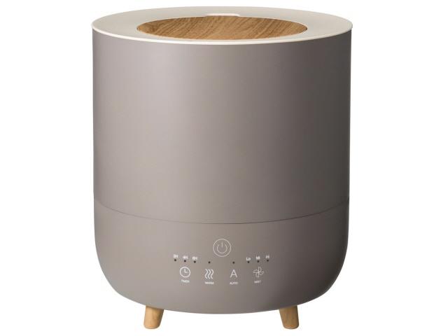 【キャッシュレス 5% 還元】 スリーアップ 加湿器 Fog Mist HB-T1953BR [ショコラ] [加湿タイプ:ハイブリッド式(加熱超音波式) 設置タイプ:据え置き 適用畳数(プレハブ洋室):10畳 タンク容量:3.5L その他機能:自動運転/アロマ] 【】 【人気】 【売れ筋】【価格】