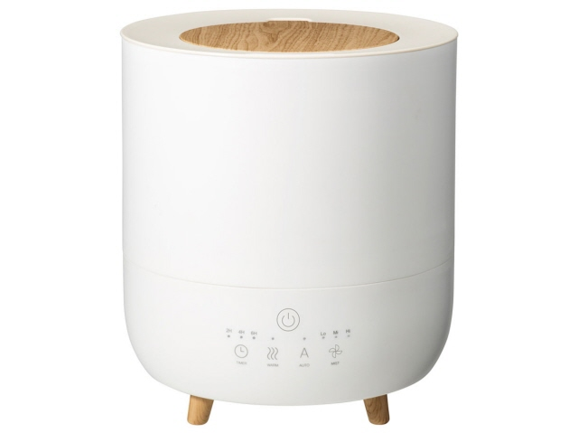 【キャッシュレス 5% 還元】 スリーアップ 加湿器 Fog Mist HB-T1953WH [ホワイト] [加湿タイプ:ハイブリッド式(加熱超音波式) 設置タイプ:据え置き 適用畳数(プレハブ洋室):10畳 タンク容量:3.5L その他機能:自動運転/アロマ] 【】 【人気】 【売れ筋】【価格】