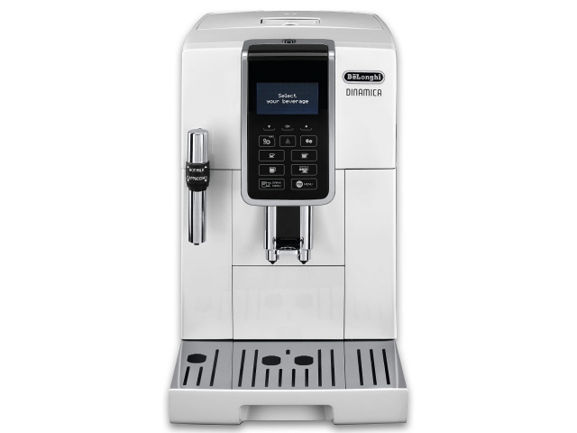 【キャッシュレス 5% 還元】 デロンギ コーヒーメーカー ディナミカ ECAM35035W [容量:2杯 コーヒー:○ エスプレッソ:○ カプチーノ:○] 【】 【人気】 【売れ筋】【価格】