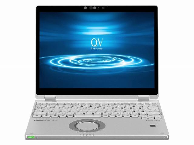 【キャッシュレス 5% 還元】 パナソニック ノートパソコン Let's note QV8 CF-QV8FDGQR [画面サイズ:12インチ CPU:Core i5 8265U(Whiskey Lake)/1.6GHz/4コア CPUスコア:7987 ストレージ容量:SSD:256GB メモリ容量:8GB OS:Windows 10 Pro 64bit]