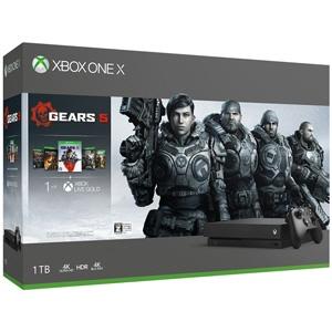 【キャッシュレス 5% 還元】 【ポイント5倍】マイクロソフト ゲーム機 Xbox One X Gears 5 同梱版 CYV-00336 [1TB] 【】 【人気】 【売れ筋】【価格】