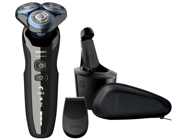 【キャッシュレス 5% 還元】 フィリップス シェーバー 6000シリーズ S6680/26 [刃の枚数:3枚刃 駆動方式:回転式 電源方式:充電 洗浄機能:スマートクリーンシステム その他機能:水洗い/海外使用/お風呂剃り対応/キワゾリ刃]