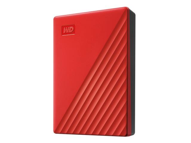 【キャッシュレス 5% 還元】 WESTERN DIGITAL 外付け ハードディスク My Passport WDBPKJ0040BRD-JESN [レッド] [容量:4TB インターフェース:USB3.1 Gen1(USB3.0)] 【】 【人気】 【売れ筋】【価格】