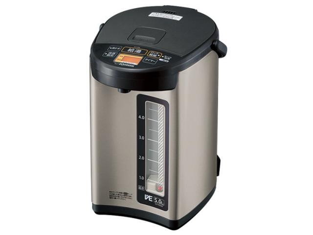 【キャッシュレス 5% 還元】 象印 電気ポット VE電気まほうびん 優湯生 CV-RA50 [タイプ:電気ポット 容量:5L 出湯方式:電動式 重さ:3.6kg] 【】 【人気】 【売れ筋】【価格】