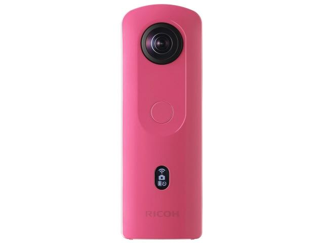 【ポイント5倍】リコー デジタルカメラ RICOH THETA SC2 [ピンク] [画素数:1200万画素(有効画素)x2 撮影枚数:260枚]  【人気】 【売れ筋】【価格】